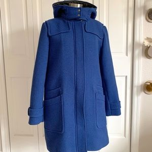 Banana Republic Hooded Duffle Wool Coat XL